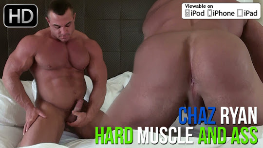 Chaz Ryan Hard Muscle and Ass