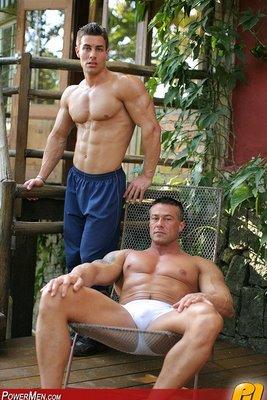 Fabrizio Ferro and Guy de Silva