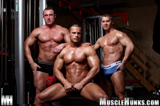 Jiri Lasik, Carl Payne and Nathan Wood